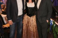 Dieter Reiter, Claudia Tausend, Markus Rinderspacher (von li. nach re.), Truderinger Ventil in Kulturzentrum Trudering in München-Trudering 2019