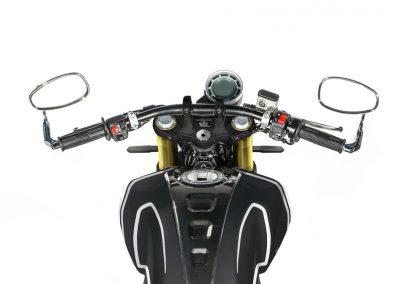 MOTOCICLETA FB MONDIAL HPS 125 NEGRA