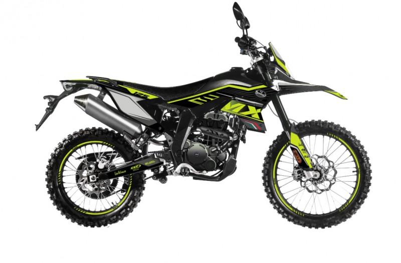 MOTOCICLETA FB MONDIAL SMX 125 ENDURO AMARILLO