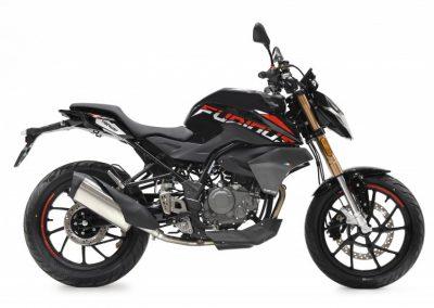 MOTOCICLETA HANWAY FURIOUS 125 NAKED COLOR NEGRO