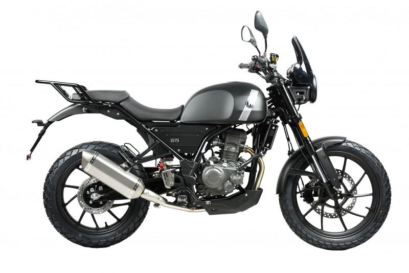 motocicleta hanway g-15 125cc color antracita mate