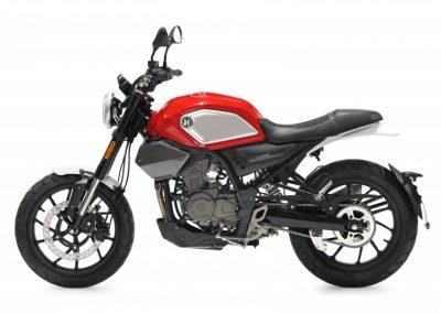 MOTOCICLETA HANWAY SC125 S COLOR ROJO