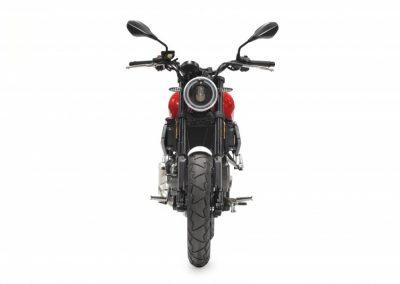 MOTOCICLETA HANWAY SC125 S COLOR ROJO FRONTAL