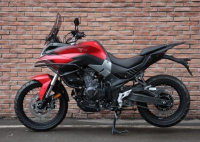 MOTOCICLETA VOGE 500SDX TRAIL ROJA