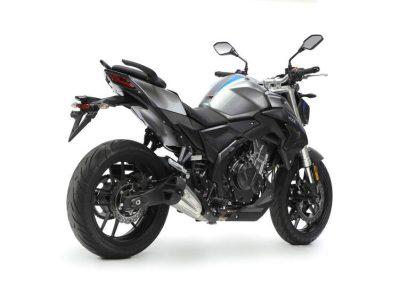 MOTOCICLETA VOGE 500R NAKED COLOR GRIS