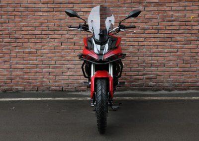 MOTOCICLETA VOGE 500DSX ROJA FRONTAL