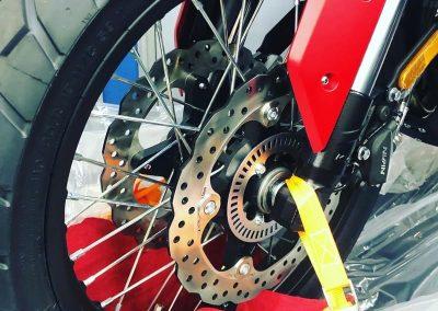 MOTOCICLETA VOGE 500DS/DSX COLOR ROJO BIG BIKE