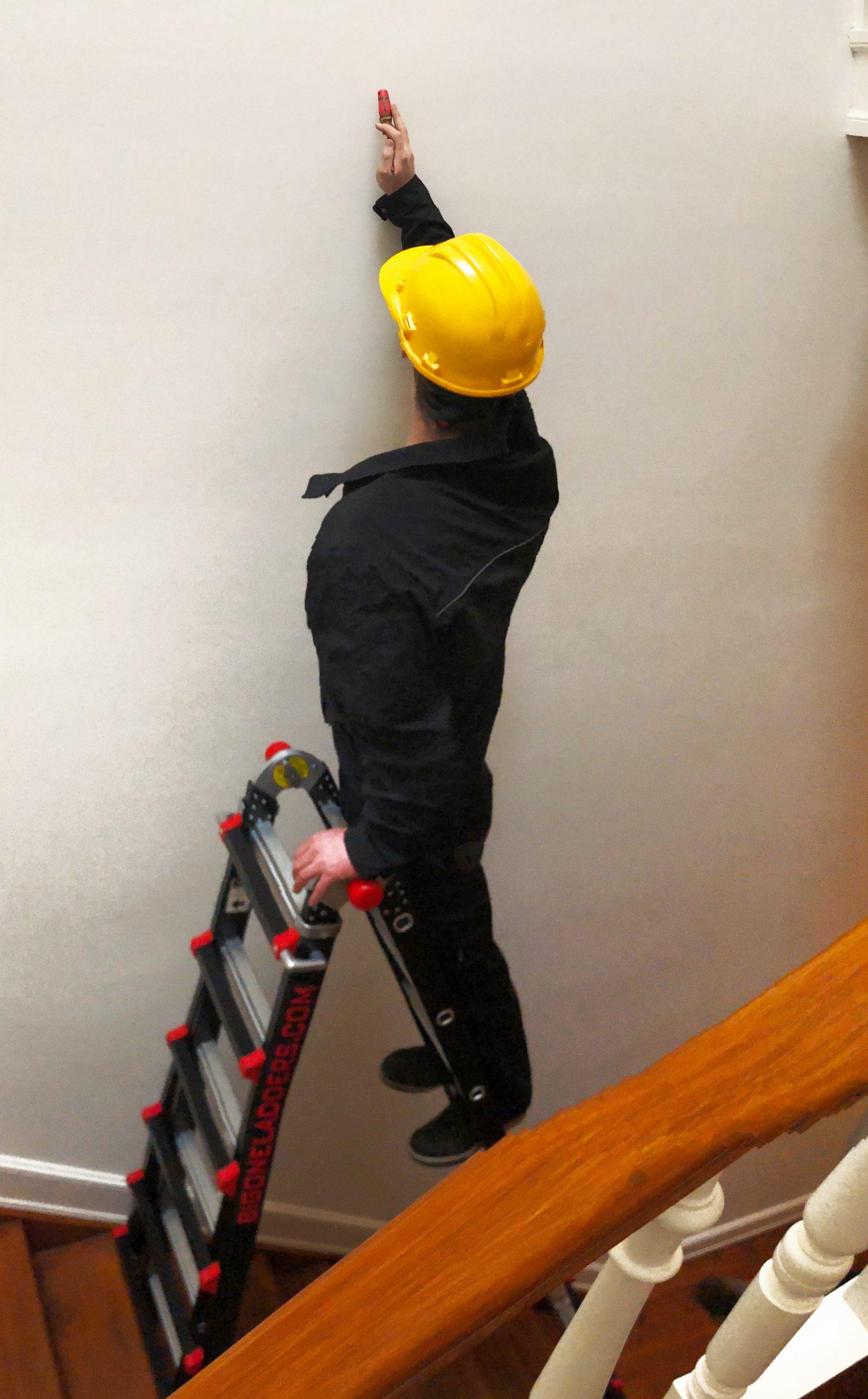 4x5 bigone ladder met man
