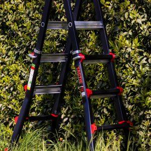 4x4 bigone ladder in groene omgeving