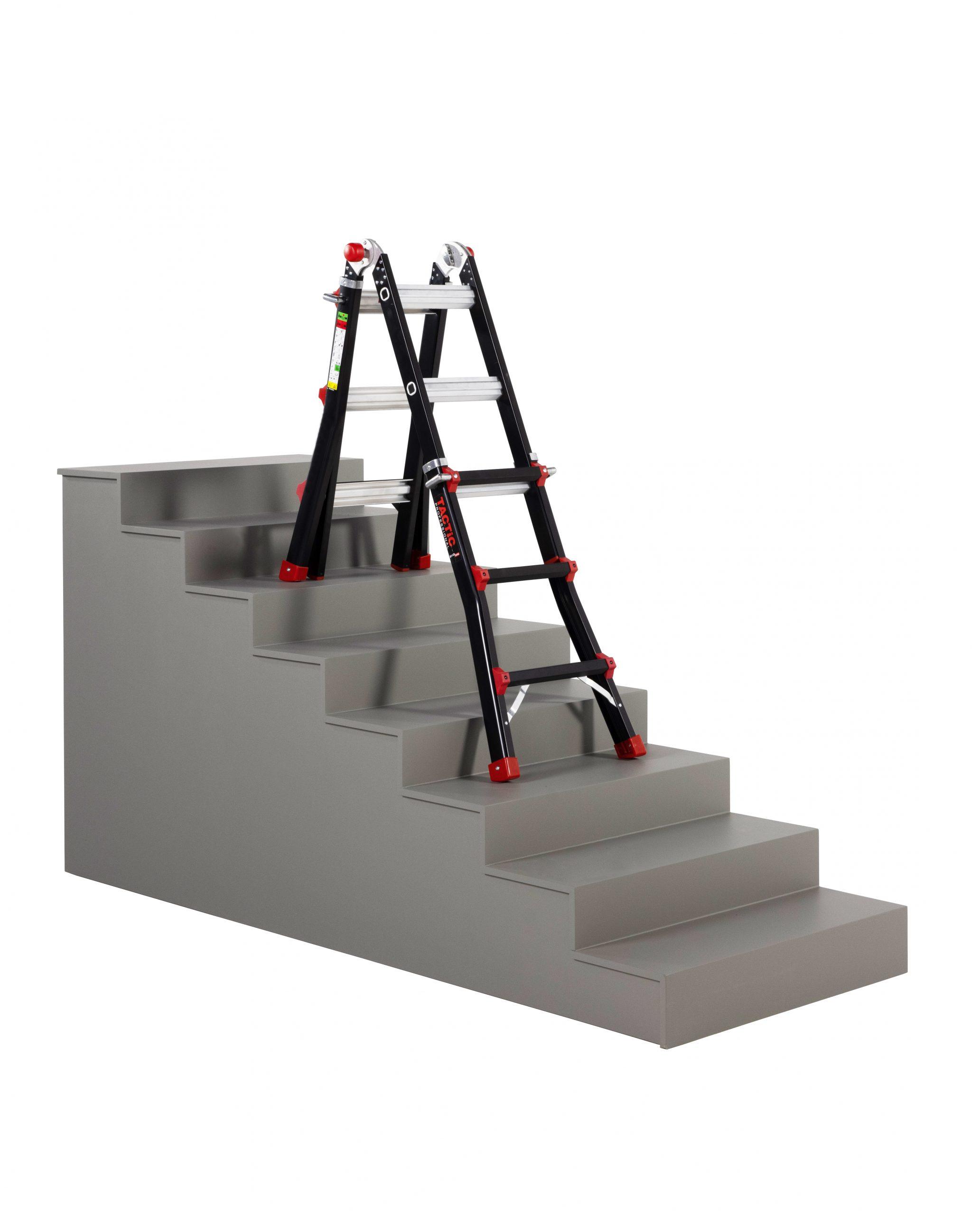 4x3 uitgeschoven op trap