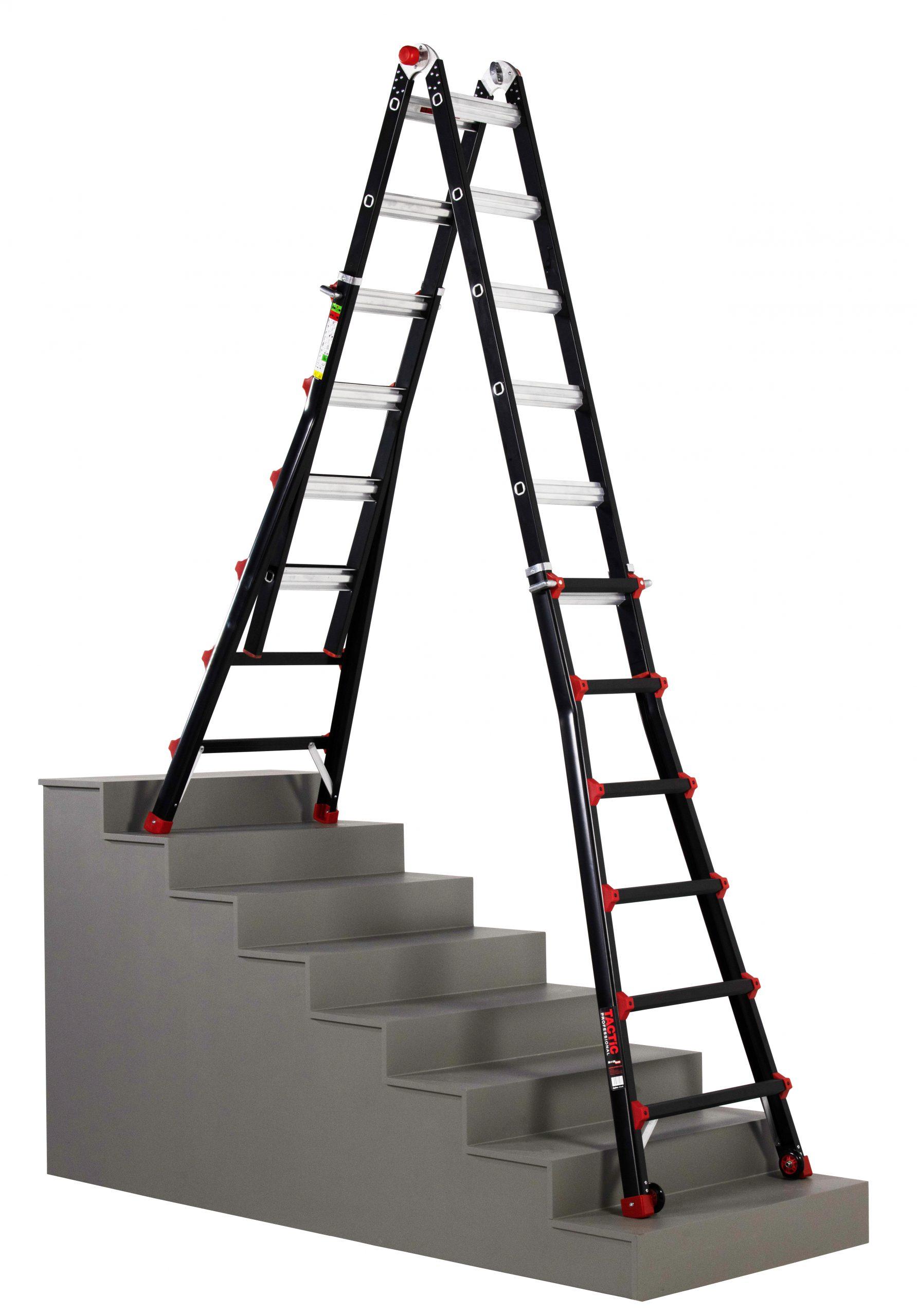 4x6 uitgeschoven op trap