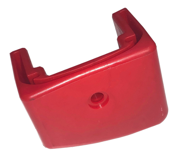 Part.005 Rode anti-slipvoet voor buitendeel links