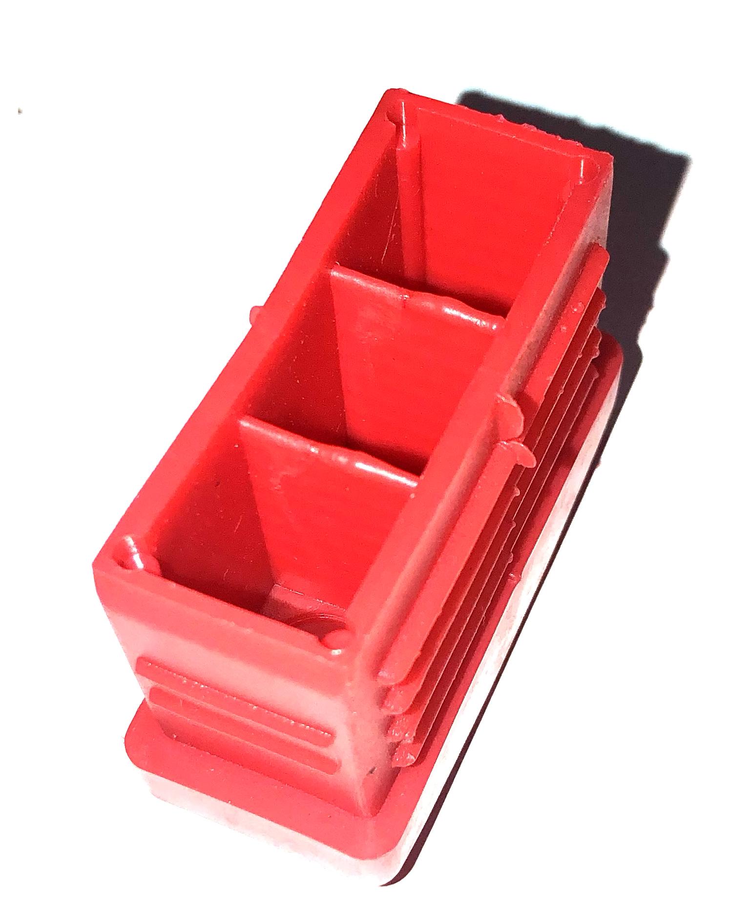 Part.001 Insteekdop rood voor binnenladder rood onderkant bigone