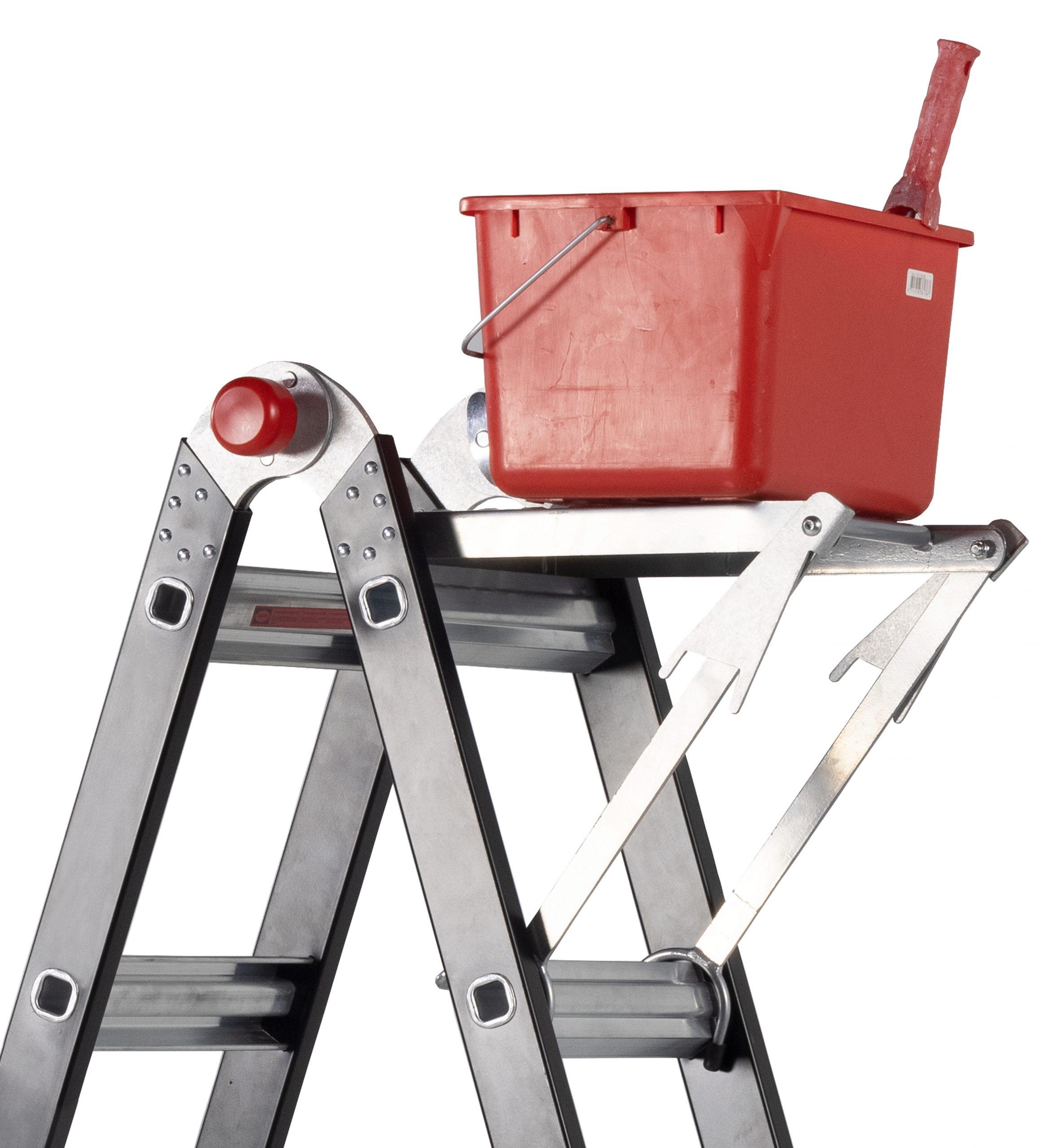ladderbank met emmer