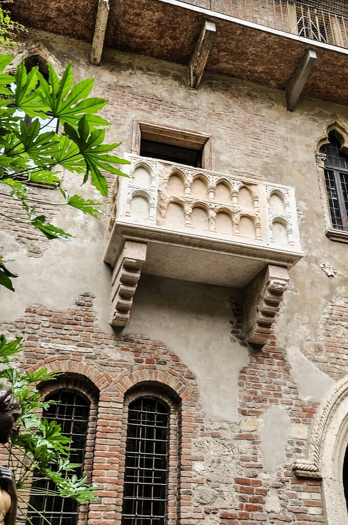 Juliets Balcony in Verona