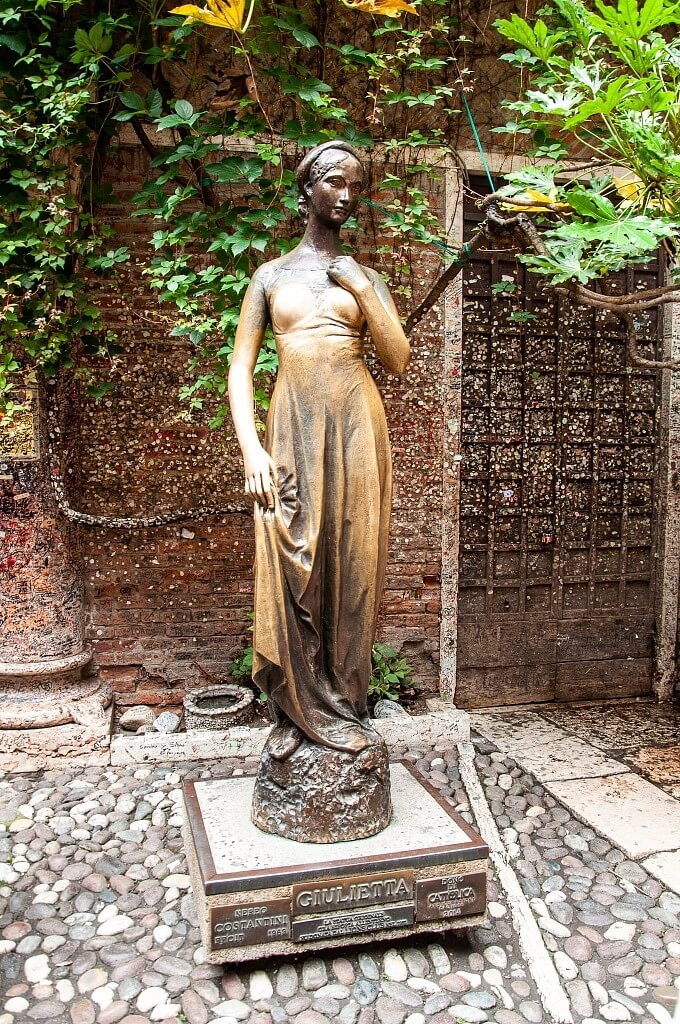 Juliet's Sculpture Verona