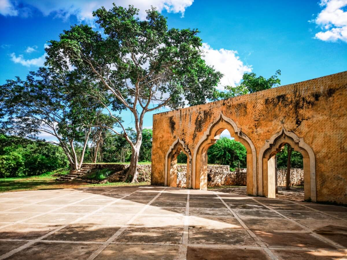 Remains of Mexican Hacienda