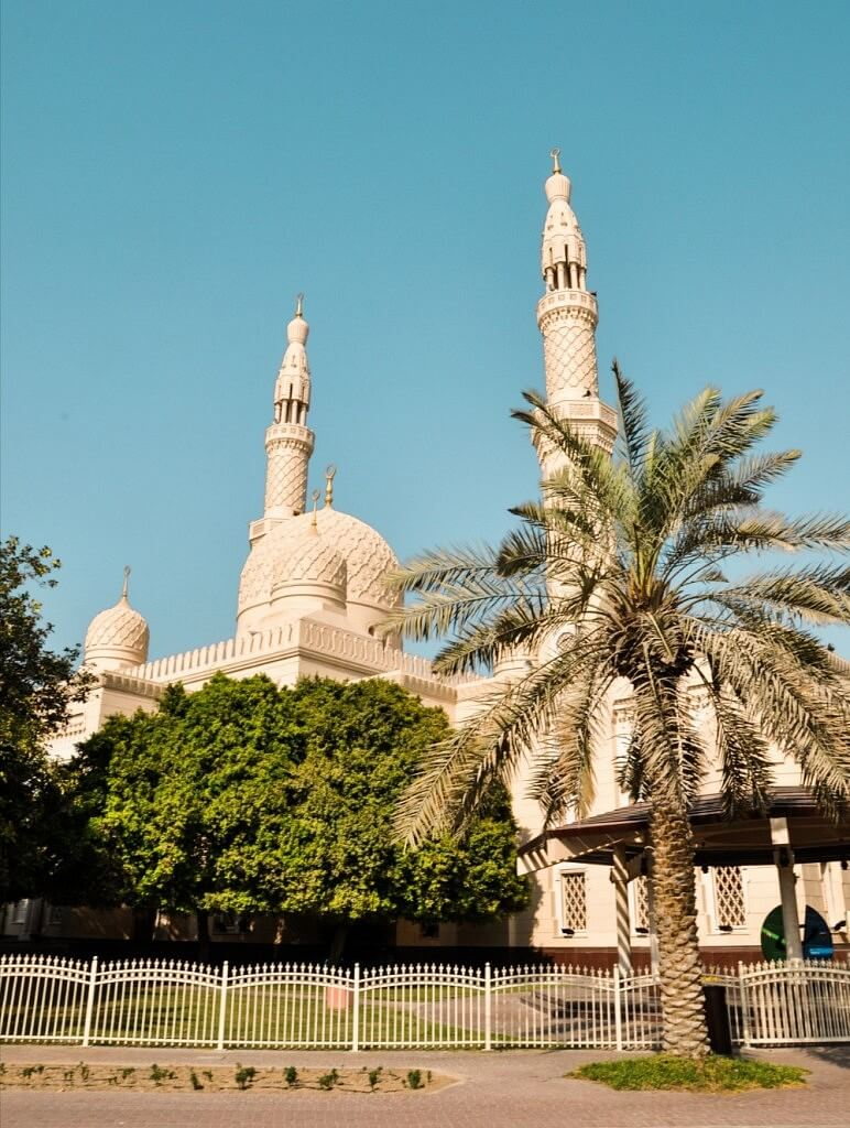 Arabic Mosque in Dubai