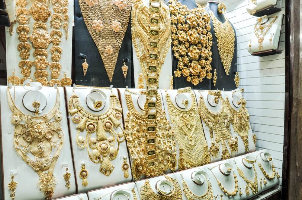 Jewelry in Dubai Gold Market