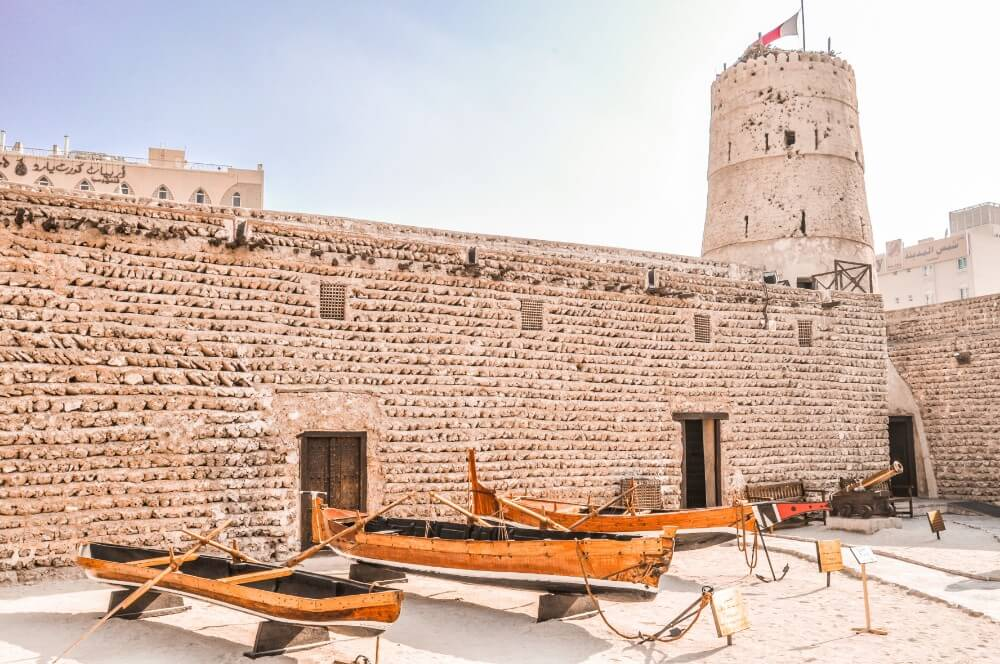 Dubai Museum in the Al Fahidi Fort