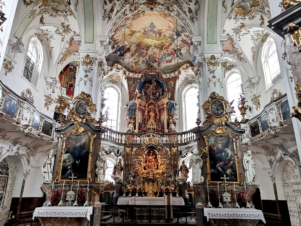 Interior of Andechs Monastery