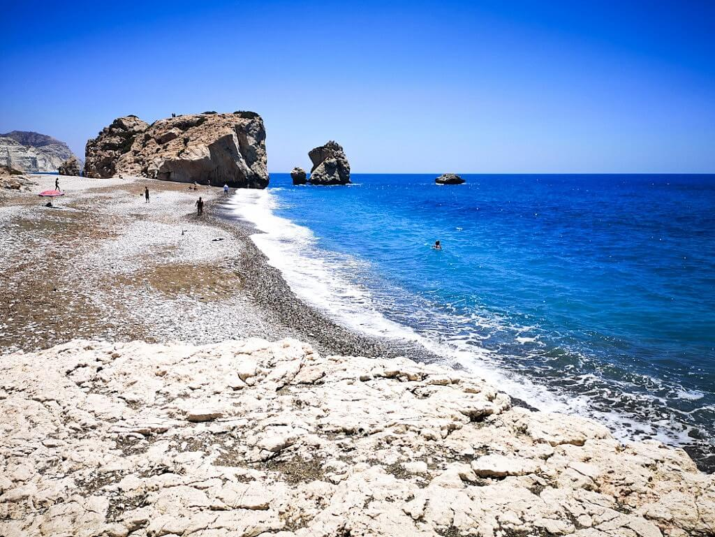 Aphrodite Rock Beach Cyprus