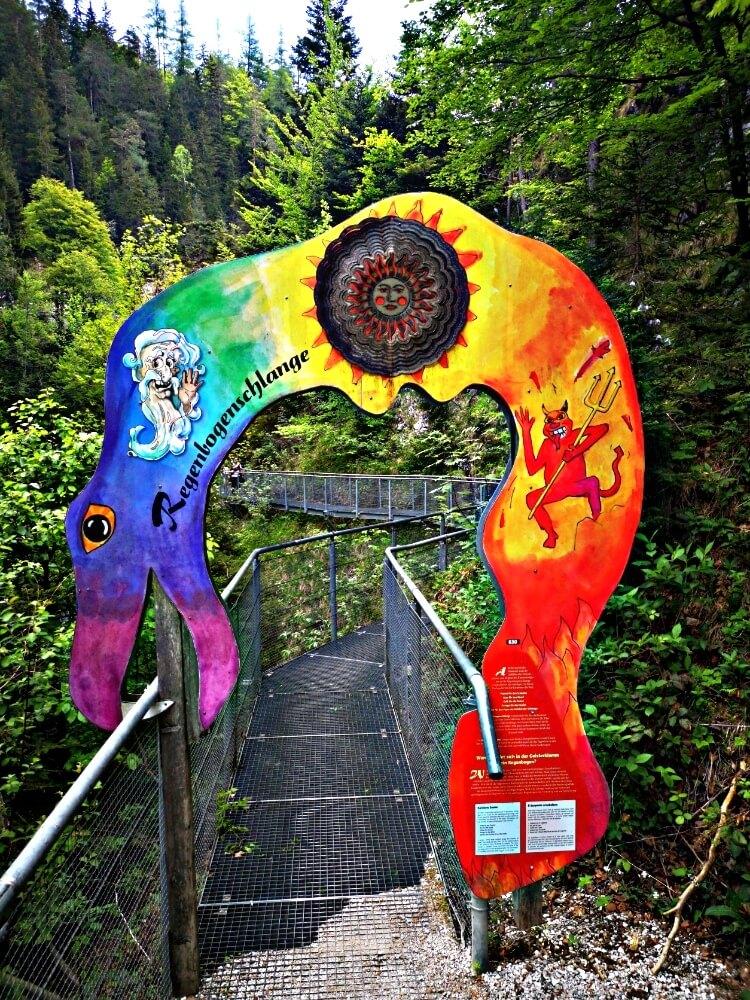 Entrance to the Geisterklamm gorge