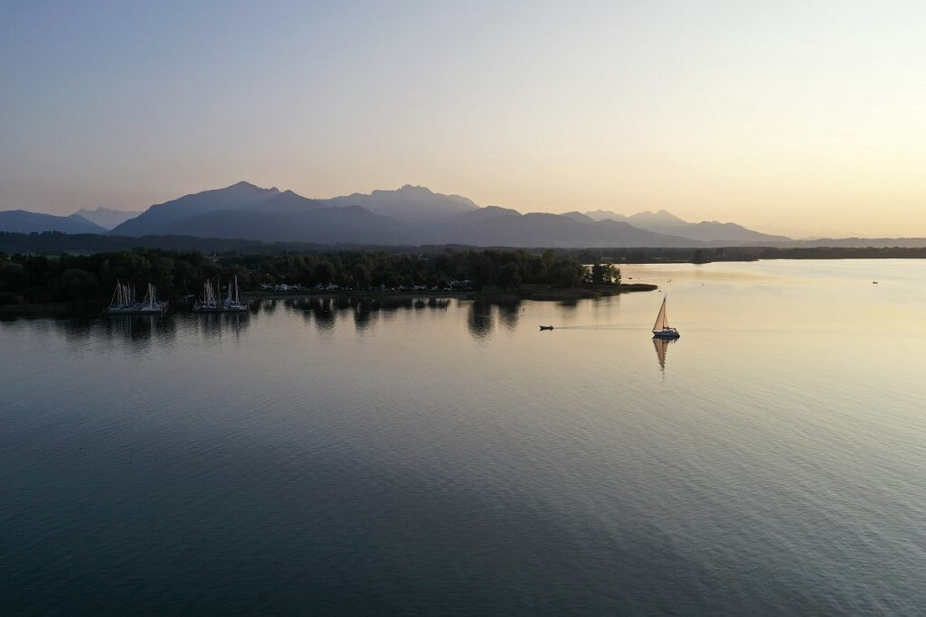 Chiemsee lake near Munich