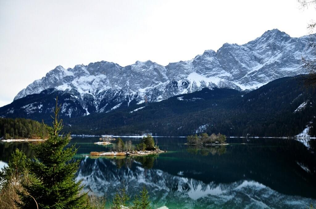 Eibsee Lake Panorama