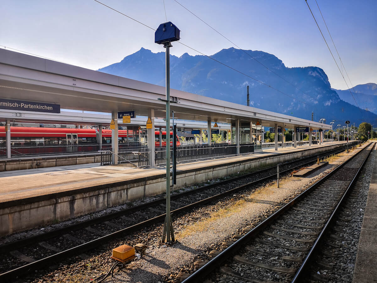 Garmisch Partenkirchen Train Station