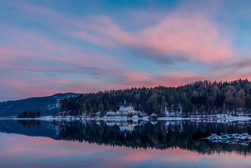 Walchensee in Winter