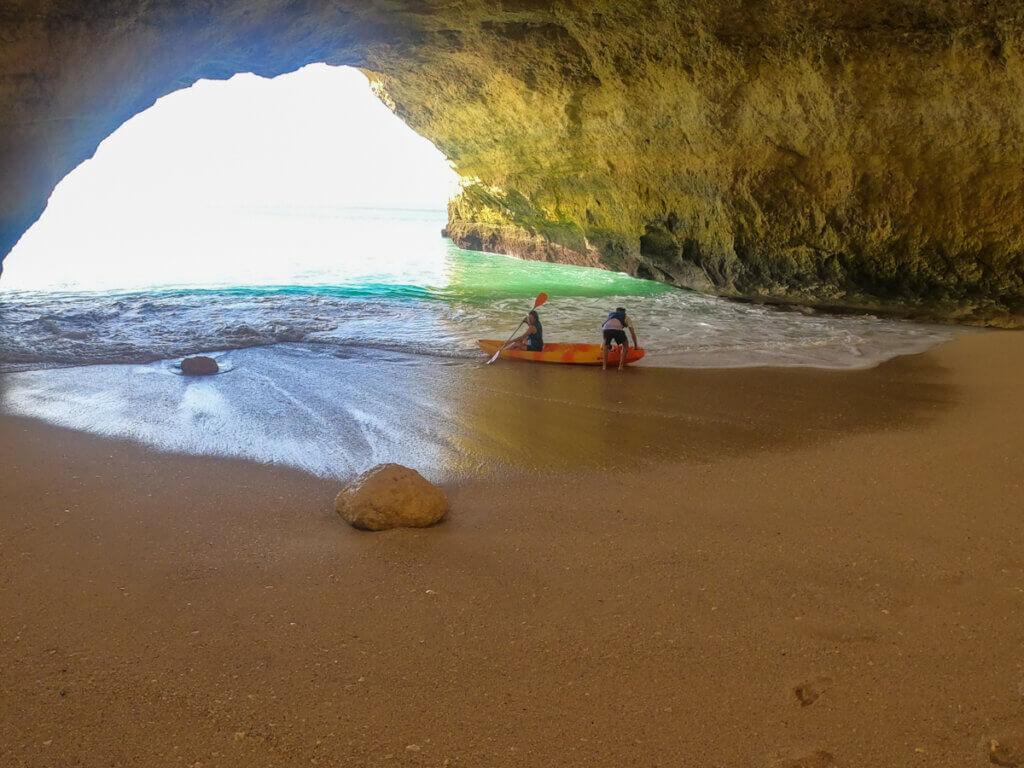Benagil Cave by Kayak.