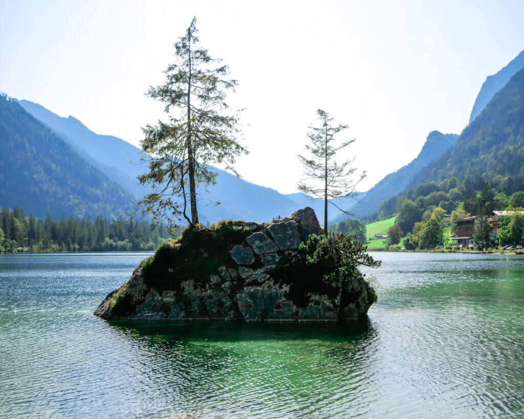 Hintersee Lake in Berchtesgaden National Park