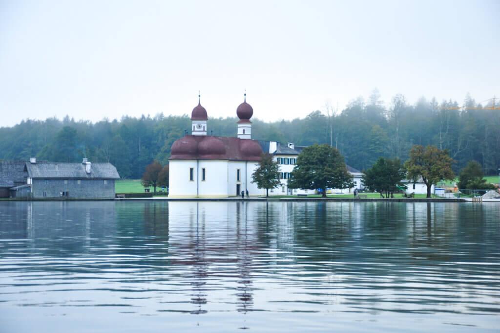St. Bartholomä at lake Königssee