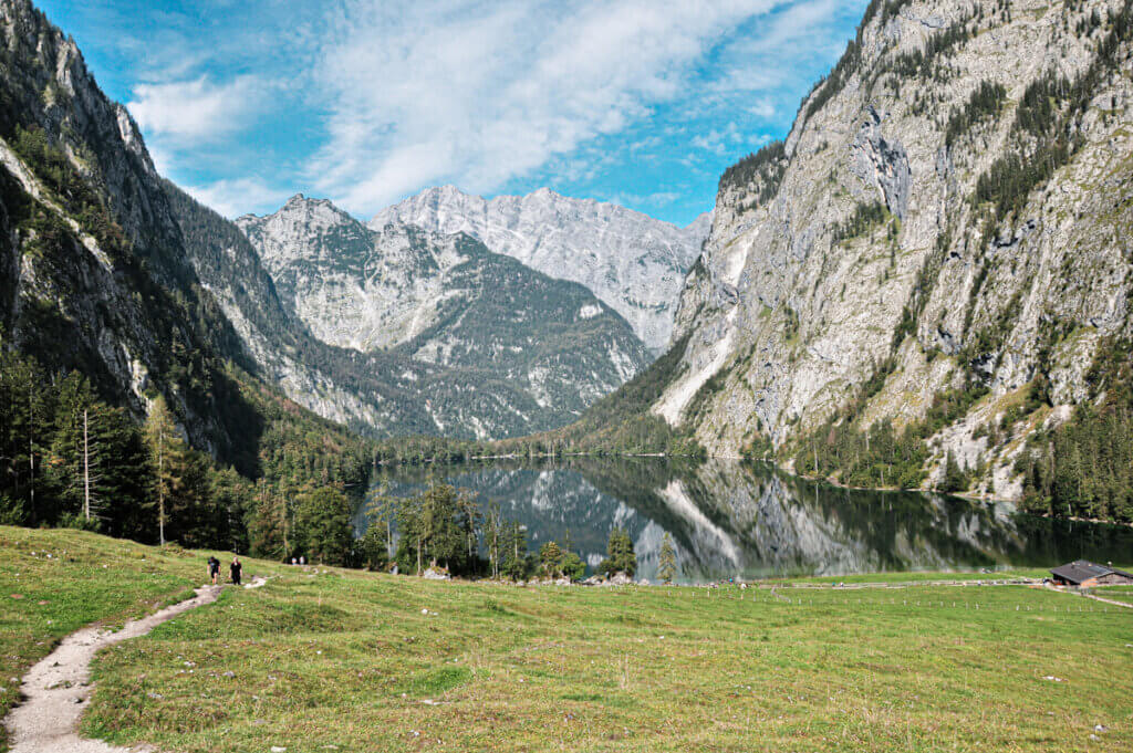 View over lake Obersee
