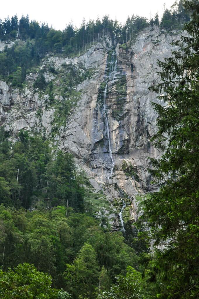 Röthbach Waterfall in Berchtesgaden national park