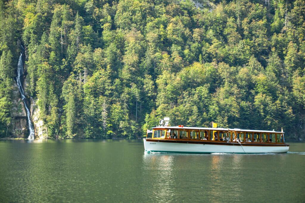 Boat Tour on lake Königsee