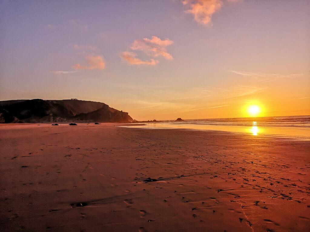Amando Beach Sunset