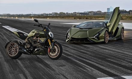 ducati presents the diavel 1260 lamborghini