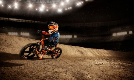 GET THOSE FIRST WHEELS ROLLING WITH THE NEW KTM FACTORY REPLICA STACYC ELECTRIC BALANCE BIKES