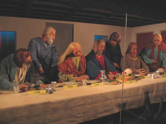 last supper im Royal Wax Museum London