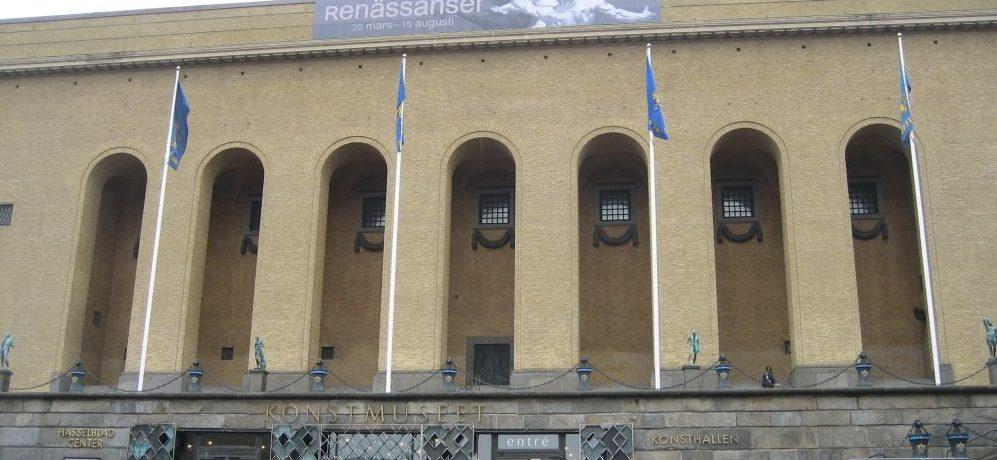 fassade des Kunstmuseums Göteborg