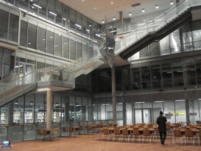 Rovaniemi, Abteilung für Kunst, Design und Kunstpädagogik - zentraler Eingangsbereich