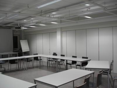 University of Lappland, Rovaniemi, Abteilung für Kunst, Design und Kunstpädagogik - Seminarraum