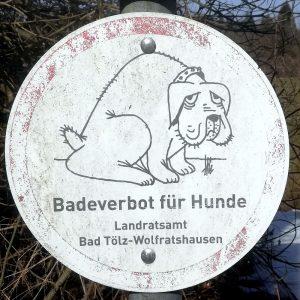 Badeverbot für Hunde