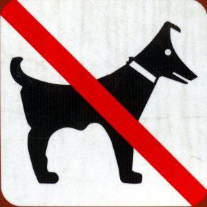 Hunderverbotpikto am Lago Maggiore