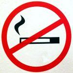Rauchverbot irgendwo in Augsburga