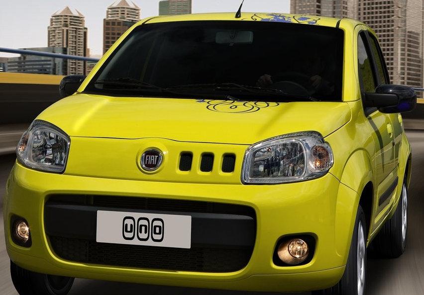 Fiat uno - Front