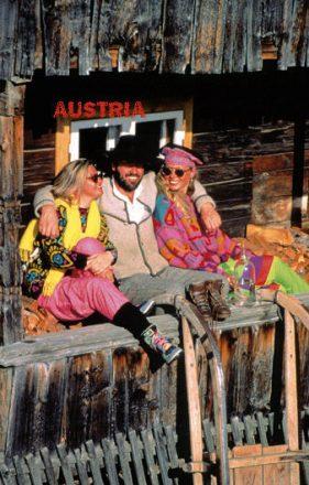Touristen lassen sich von Einheimischen am Outfit und Agieren unterscheiden.