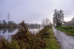 Weg entlang der Ruhr
